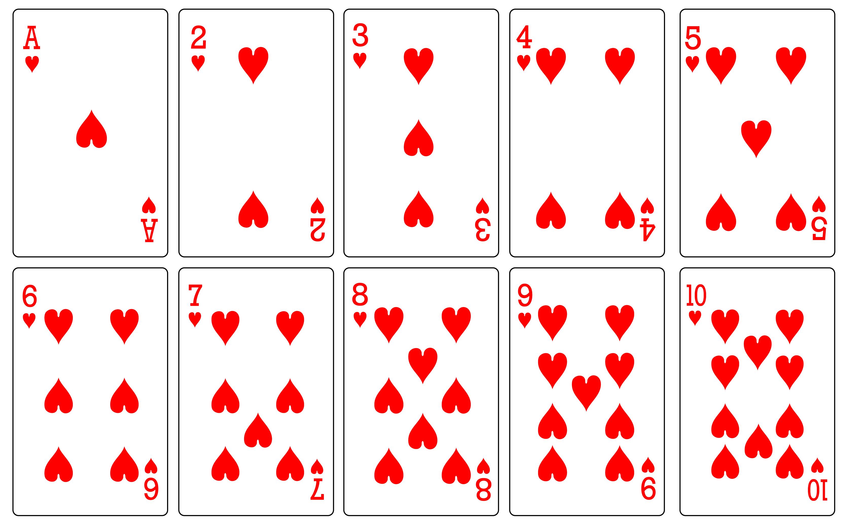 Фото, карты игральные картинки для распечатки по одной размер 10 на 15
