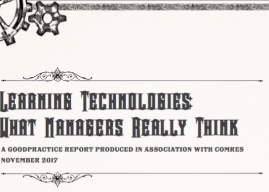 Learning Technologies: What managers really think