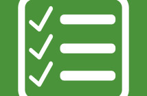 Checklist icon Illustration symbol design