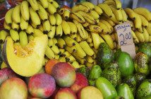 Fruit market stall