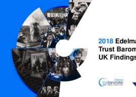 Edelman Trust Barometer 2018 – UK Results