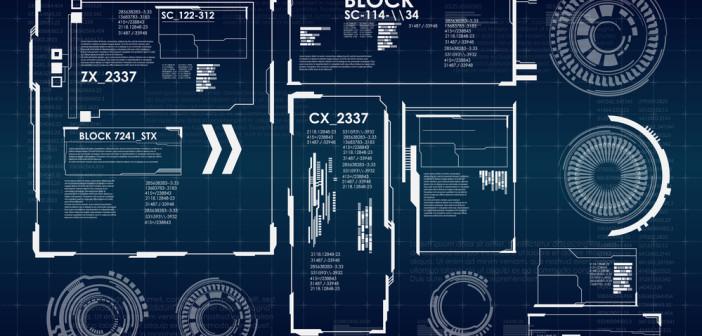 Futuristic graphic.