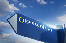 Sign saying opportunities
