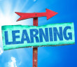 Sign saying learning