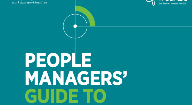 Cover of CIPD's guide to mental health