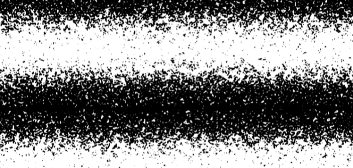 Blurred black and white paint spray