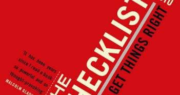 Picture of book cover The Checklist Manifesto