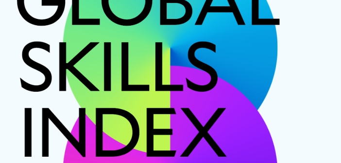Cover image of the global skills index from Coursera