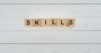 The word 'skills'