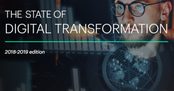 Cover of Altimeter report the state of digital transformation 2018-2019 edition