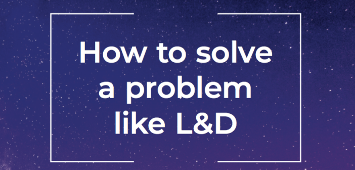 Cover of Knowledgepool report - How to solve a problem like L&D