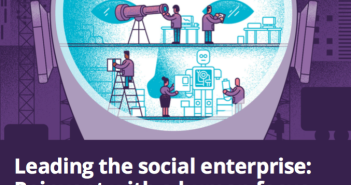 Cover shot of Deloitte's 2019 Global Human Capital Trends report
