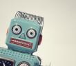 Vintage toy robot