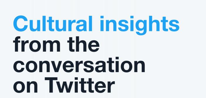 Screenshot of the Twitter trends report