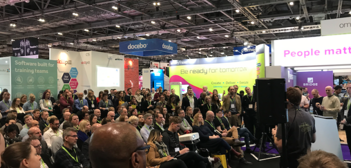 Crowd shot from Learning Technologies 2019