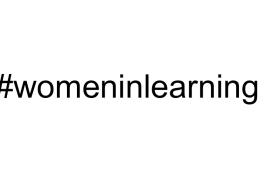 #womeninlearning