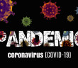 Picture reading Stop COVID-19 Corona virus global outbreak pandemic disease