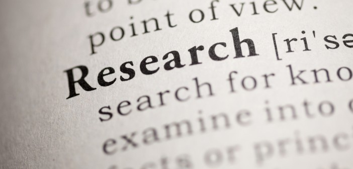 Dictionary definition of the word Research.