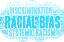 Racial Bias Word Cloud