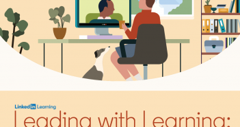 Cover of report - Leading with Learning: Insights and Advice About the New State of L&D