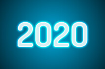 The number 2020