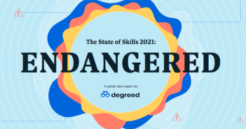 Cover of Degreed State of Skills Report 2021